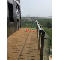 Quality Weather Resistant WPC Garden Decking High Density Barefoot Friendly No Pollution for sale