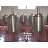 China Large Beer Brewing Equipment Stainless Steel Keg Barrel 5 Bbl Brewing System wholesale