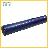 China Medium Viscosity Glass Window Safety Film , Dark Blue Protective Glass Film 50Mic wholesale