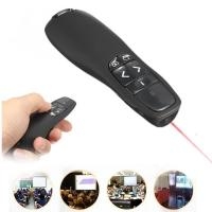 China Portable R400 RF Wireless Presenter Receiver Pointer Case Remote Control wholesale