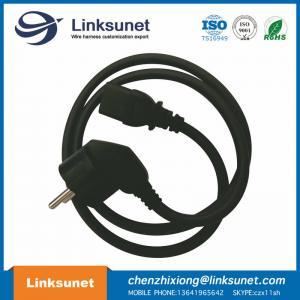 China European Custom Cable Harness Power Line 3 G 0.75 Black Length Customized wholesale