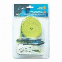 China Ratchet Tie Down, BS of Emergency Tow Rope not More Than 4000lbs wholesale