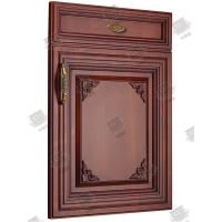 China Veneer Solid Molded Interior Doors , Soundproof Molded Panel Doors wholesale