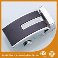 China Embossing Automatic Custom Belt Buckle Gold Plated / Silver Plated wholesale