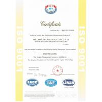 TEKORO CAR CARE INDUSTRY CO., LTD. Certifications