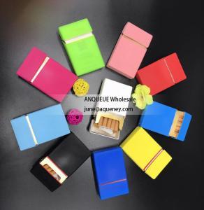 China Silk print silicone cigaretter case, cigarette cover, cigarette box with different printing designs wholesale