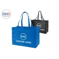 China Large Weight Capacity Non Woven Tote Bags Promotional Glossy Lamination wholesale
