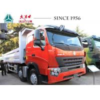 China Heavy Duty HOWO Tipper Truck , 12 Wheeler Dump Truck 40 Tons For Construction wholesale