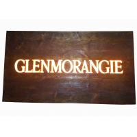 Buy cheap Custom Resin Illuminated Wooden Signs Wall Mounted Personalized Bar Signs from wholesalers