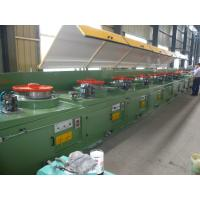 China CO2 Gas Shielded Wire Drawing Equipment , Electrical Welding Electrode Making Machine LZ10--560 wholesale