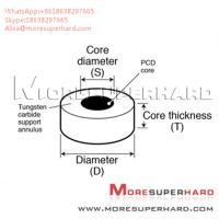 China Tungsten Carbide Supported Diamond Die Blanks Alisa@moresuperhard.com wholesale