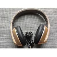 China Golden Bluetooth Headphones Noise Cancelling Over Ear  For Children / Adults on sale