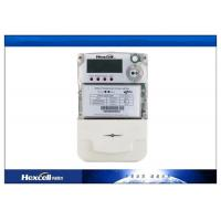 China PC Material Single Phase Two Wire Static Energy Meter LCD transparent wholesale
