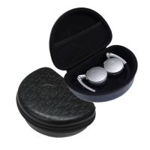 China Foldable Headphone Protective Case , Black EVA Foam Earbud Carrying Case on sale