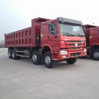 China SINOTRUK HOWO 12 Wheels Dump/Tipper Trucks With 371HP Optional color Euro 2 wholesale