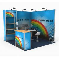 China Easy Assembling Modular Custom Tradeshow Booth Various Optional Size wholesale