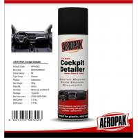 China Aeropak Automotive Dashboard Wax Spray Protective For Leather / Plastic / Rubber wholesale