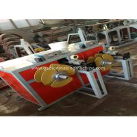 China Industrial PVC Coating Machine High Speed Automatic Hot Galvanized With Fan Cooling wholesale