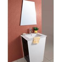 China Nature wood wall mount bath furniture cabinet wholesale