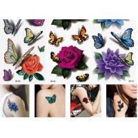 China Women's Flower Temporary Fashion Tattoos Sticker Long Lasting Tattoo Sticker wholesale
