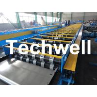 China Galvanized Steel Floor Deck Roll Forming Machine For Floor Decking Sheets wholesale