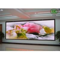China Dynamic P10 SMD Indoor Full Color  LED Display panel , Programmable LED screen wholesale