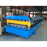 China IBR Roof Sheeting Double Layer Roll Forming Machine 0.4mm - 0.8mm Q230-550 wholesale