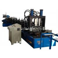 China 80-300mm CZ Purlin Roll Forming Machine For 1.5-4mm Thickness Purlin wholesale