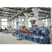 China TPV TPR Thermoplastic Plastic Pellet Extruder 300-400kg/H / Water Ring Cutting System wholesale