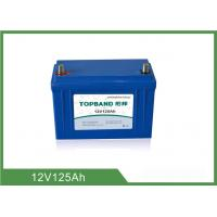 China Customized LiFePO4 Batteries For Electric Golf Cart 12V 125AH wholesale