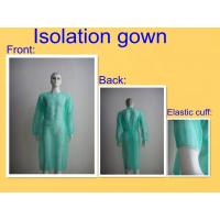 China Hospital Disposable Medical Gowns SMS PP Material With Round Neck wholesale