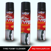 China TUV Certificated 750ml Car Care Products Car Tyre Shine Spray wholesale