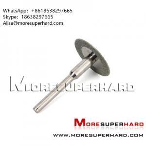 China Diamond rotary cutting disc, mini discs Alisa@moresuperhard.com wholesale