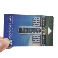 China 13.56MHZ Mifare 1K/4K Door Locks RFID Hotel Key Cards Customized PVC Material on sale