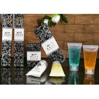Quality Custom Logo Printing Luxury Hotel Room Amenities With Plant Essential for sale