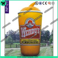 China 5m Oxford Cloth Outdoor Giant Inflatable Cup Model with Print for Promotional wholesale