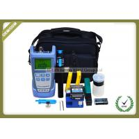 China Full Set FTTH Tool Kit With Fiber Optic Cleaver FC - 6S / Optical Power Meter wholesale