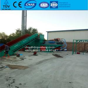 China scrap carton baling press machine waste paper baler wholesale
