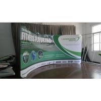 China 10Ft Aluminum Stand Tension Fabric Displays , affordable booth displays for trade shows wholesale