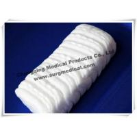 China Personal Perforated Zig - zag Cotton Wool High Absorbent Baby Care wholesale