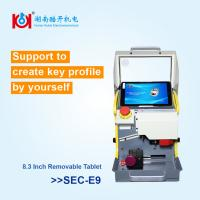Buy cheap Multi Function Automatic Key Copy Machine Yellow And White With 12 Month Warranty from wholesalers