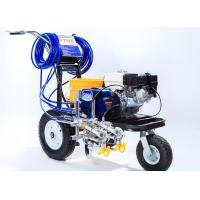 China Striping Road Line Marking Machine With Double Guns And Piston Pump wholesale