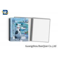 China Durable Custom Printed Notebooks , A4/A5/A6 3D Lenticular Cover CMYK Offset Printing wholesale