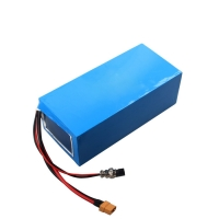 China Portable 17.5Ah 52v Lithium Battery Pack , li ion rechargeable battery wholesale