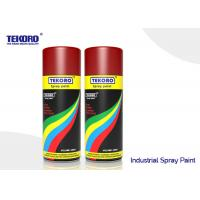 China Quick Drying Industrial Spray Paint Hard Finish For Metal / Wood / Plastic Substrates wholesale