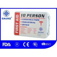 China Durable ANSI OSHA Approved First Aid Kits For Vehicles / Construction First Aid Set wholesale