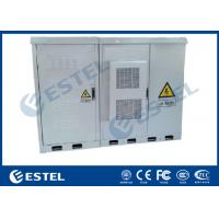 China Four Access Doors Outdoor Base Station Cabinet IP55 With Air Conditioner Cooling System wholesale