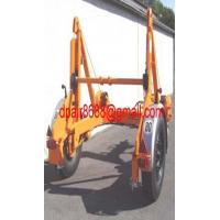 China Cable Reel Trailer& Pulley Carrier Trailer wholesale