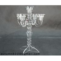 China CH (8) acrylic candlestick holder wholesale