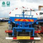 China Howo Sinotruk Mini Splash Water Tank Truck 12 - 14 Cbm 251 - 350hp Horsepower wholesale